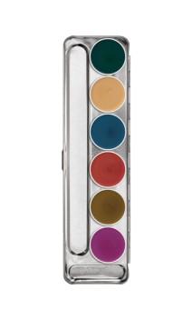 Palette fard gras Interferenz 6 couleurs