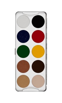 "Palette Tatouage ""Body Illustration Color"" 10 couleurs"