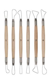 Set de 6 spatules