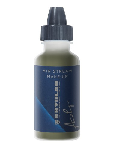 Air stream make-up iridescent
