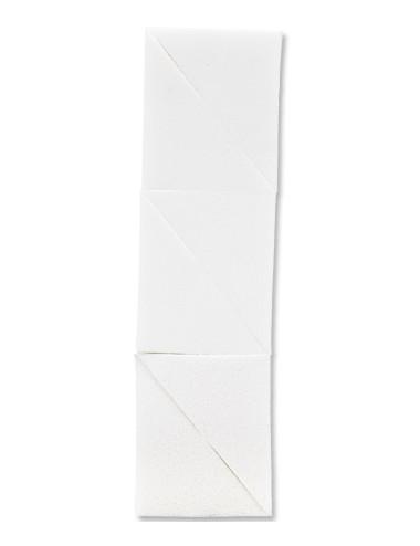 Eponges cosmétiques triangulaires en latex