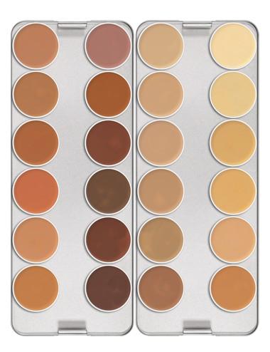 Palette dermacolor camouflage 24 couleurs