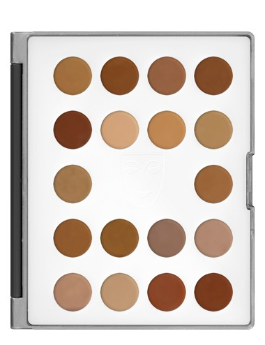 Mini palette HD micro foundation 18 couleurs