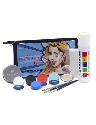 Kit de maquillage Pop Art