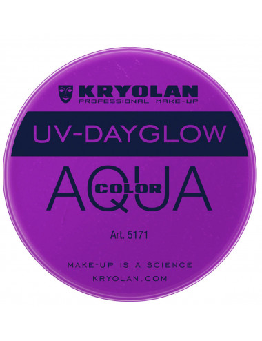 Aquacolor uv dayglow violet