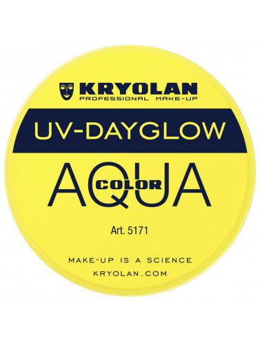 Aquacolor uv dayglow jaune