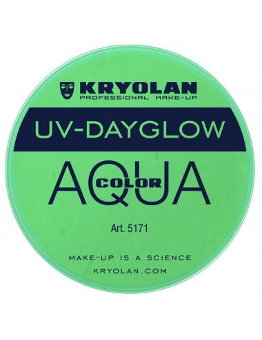 Aquacolor uv dayglow vert