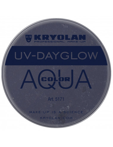 Aquacolor uv dayglow noir
