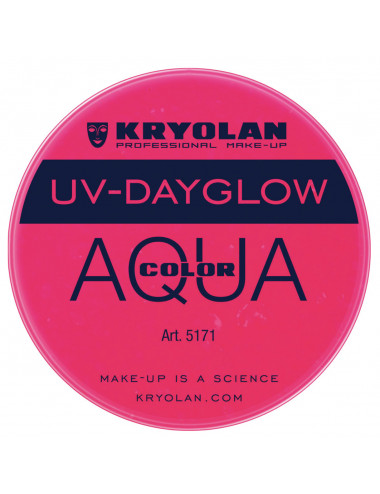 Aquacolor uv dayglow fuchsia