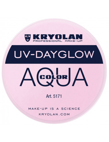 Aquacolor uv dayglow rose