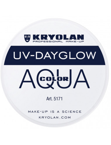 Aquacolor uv dayglow blanc