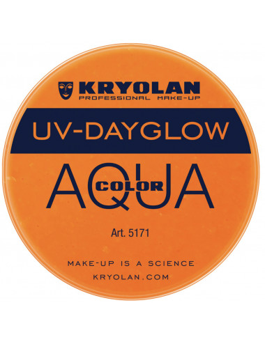 Aquacolor uv dayglow orange