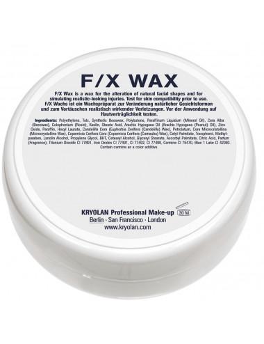 Cire FX wax Kryolan effets spéciaux