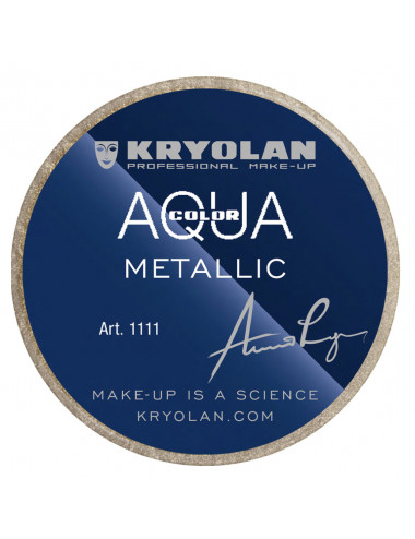 aquacolor metallic gold 8ml