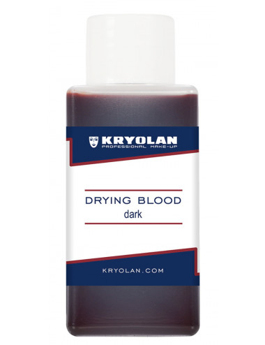 Faux sang drying blood