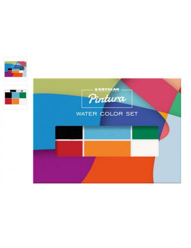 Pintura Water Color Set 6 Couleurs