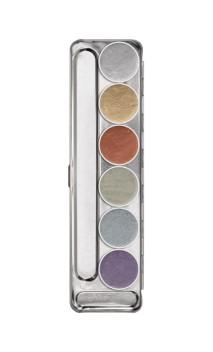 Palette métallique 6 couleurs