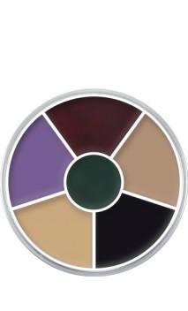 Palette fard crème