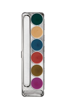 Palette fard gras Interferenz 6 couleurs