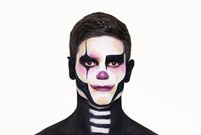 Maquillage Clown Steampunk
