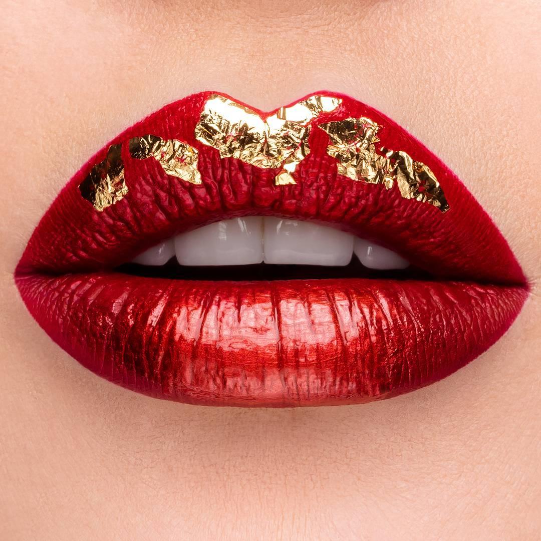 Maquillage bouche Noel Kryolan