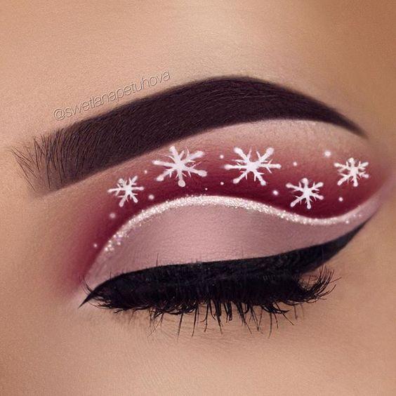 Nos idées Makeup pour Noël , Top maquillage